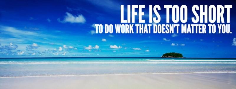 La vita è troppo breve per fare un lavoro che non vi piace, così vi racconto cos'è un Escape Monday.